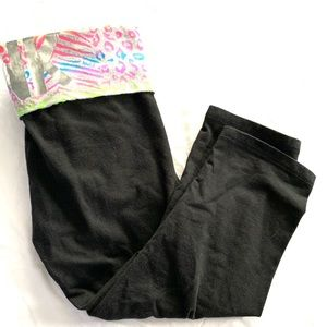 PINK Cropped Yoga Pants Size S